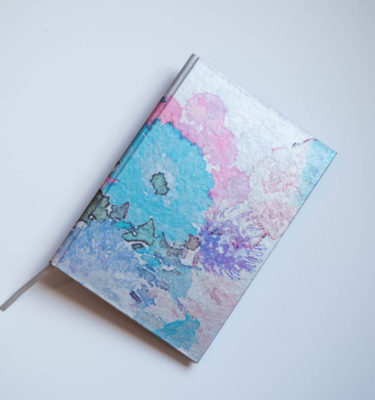 A5 Floral hardback watercolour notebook